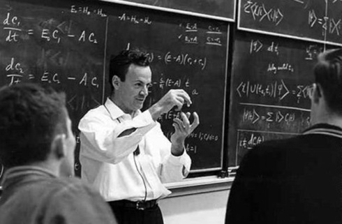 Physicist Richard Feynman